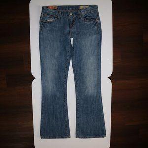 GAP 1969 Original Flare Stretch Blue Jeans